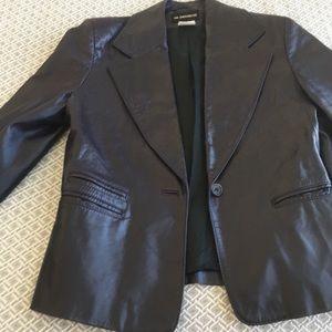 Ann Demeulemeester Leather Jacket
